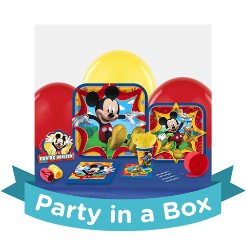 Mickey 1st Birthday Party in a Box