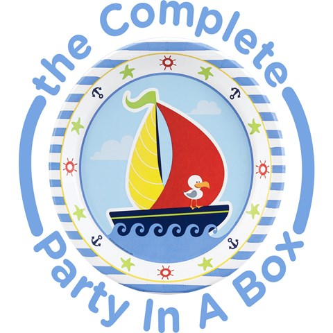 Anchors Aweigh 1st Birthday Party in a Box