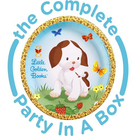 Little Golden Books 1st Birthday Party in a Box