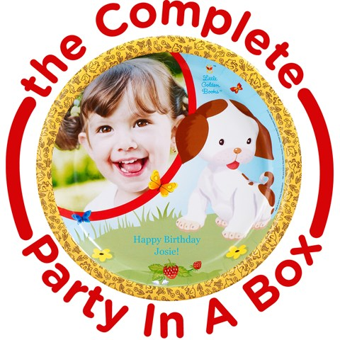 Little Golden Books Personalized Party in a Box
