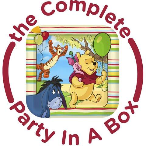 Pooh and Pals 1st Birthday Party in a Box