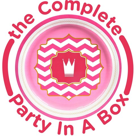 Pink 1st Birthday Party in a Box