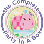 Hippo Pink Party in a Box