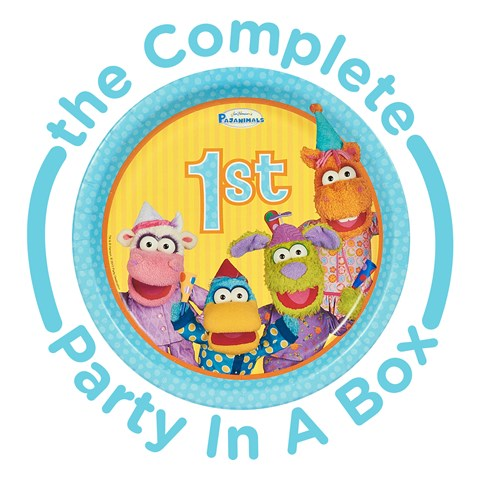 Pajanimals 1st Birthday Party in a Box
