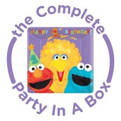 Sesame Street 1st Birthday Party in a Box