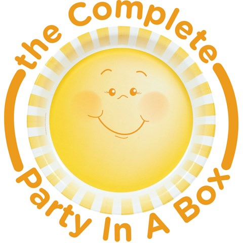 Little Sunshine 1st Birthday Party in a Box
