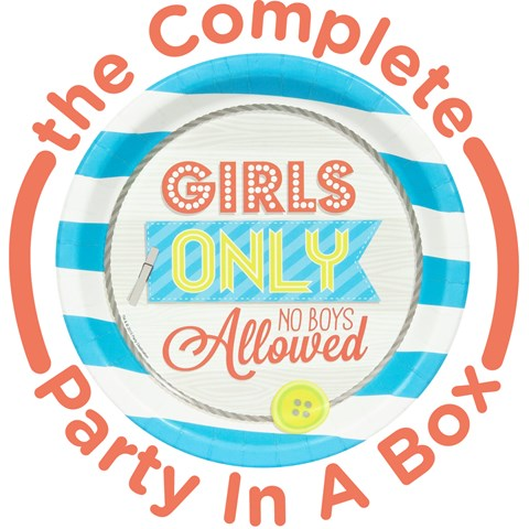 Girls Only Party in a Box