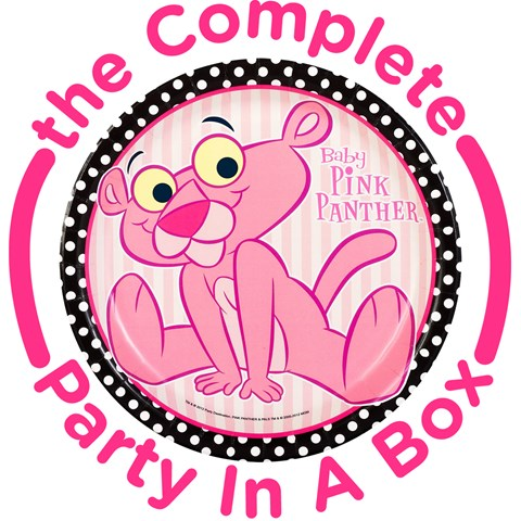 Baby Pink Panther Party in a Box