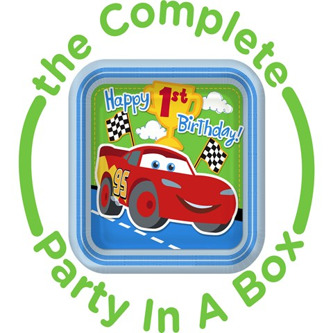 Disneys 1st Birthday Cars Party in a Box