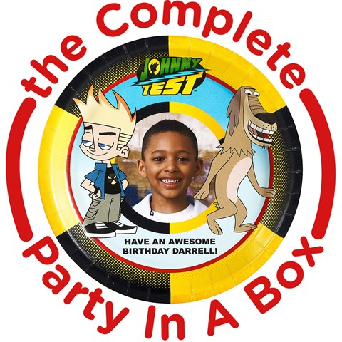 Johnny Test Personalized Party in a Box