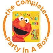 Elmo 1st Birthday Party in a Box