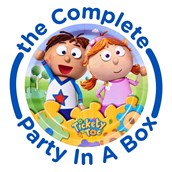 Tickety Toc 1st Birthday Party in a Box