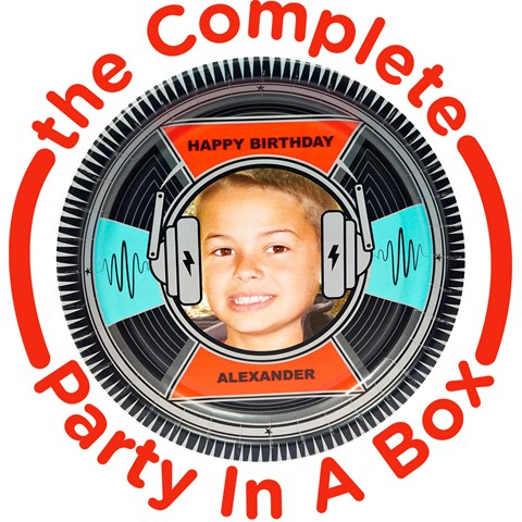 Born to Rock Personalized Party in a Box