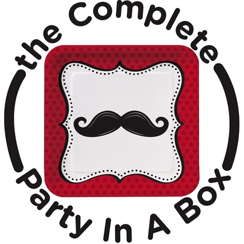 Mustache Madness Party in a Box