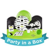 Mustache Man Party in a Box