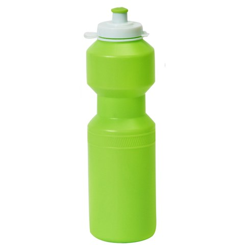 Lime Green Sports Water Bottle