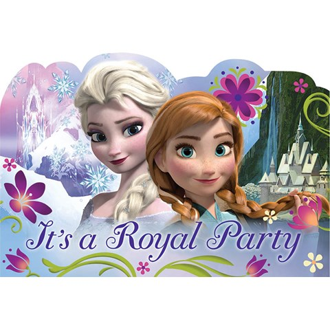Disney Frozen Invitations (8)