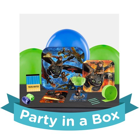How to Train Your Dragon 2 Party in a Box