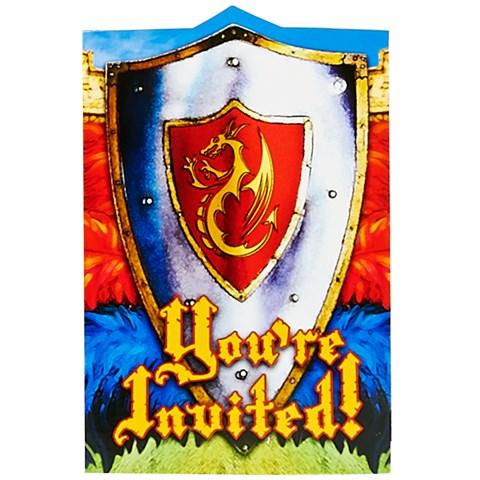 Valiant Knight Invitations (8)