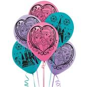Disney Frozen Printed Latex Balloons (6)