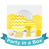 Chevron Yellow Party in a Box