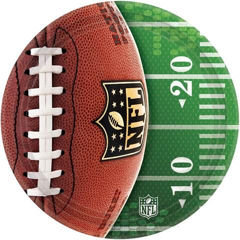 NFL Drive Dessert Plates (8)
