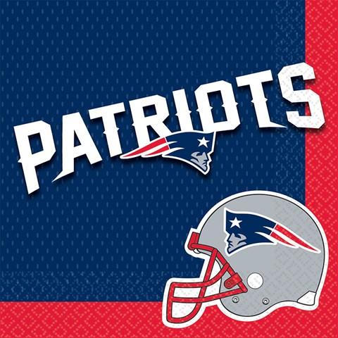 New England Patriots Lunch Napkins (16)