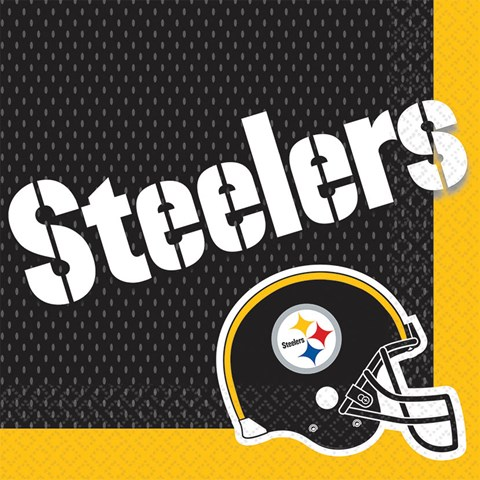 Pittsburgh Steelers Lunch Napkins (16)