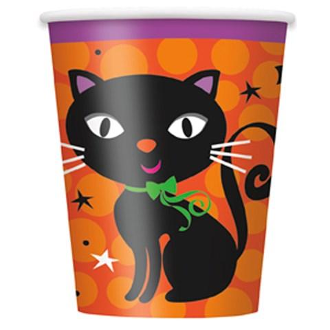 Hallooween Spooky Boots 9 oz. Paper Cups (8)