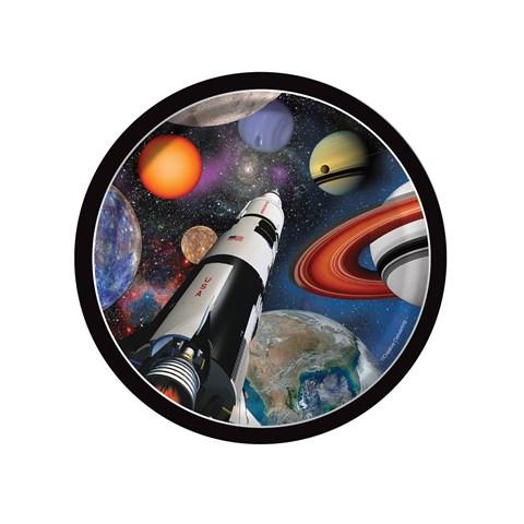 Space Blast Dessert Plates (8)