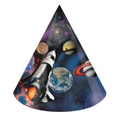 Space Blast Cone Hats (8)