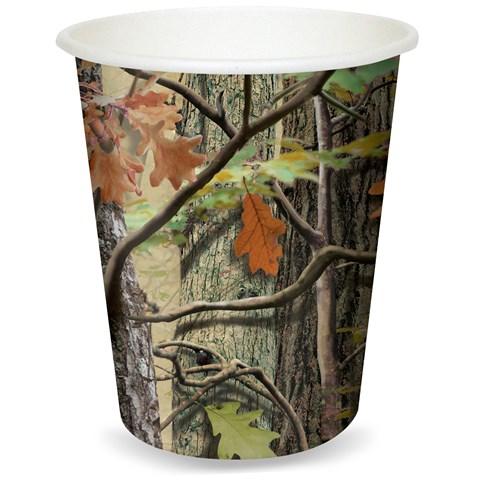 Hunting Camo 9 oz. Cups (8)