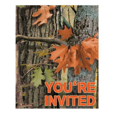 Hunting Camo Invitations (8)