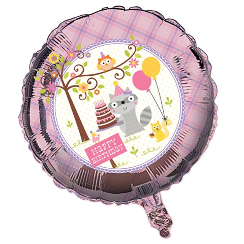 Happi Woodland Girl Foil Balloon