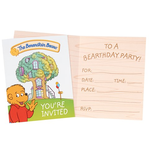 The Berenstain Bears Invitations (8)