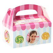 Candy Shoppe Personalized Empty Favor Boxes (8)