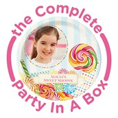 Candy Shoppe Personalized Party in a Box