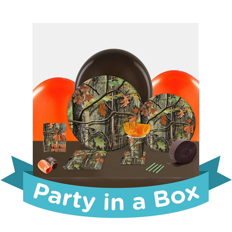 Hunting Camo Party in a Box - Basic - 8 Guests