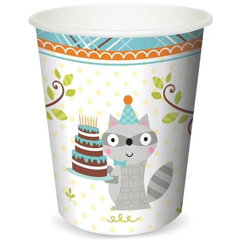 Happi Woodland Boy 9 oz. Cups (8)