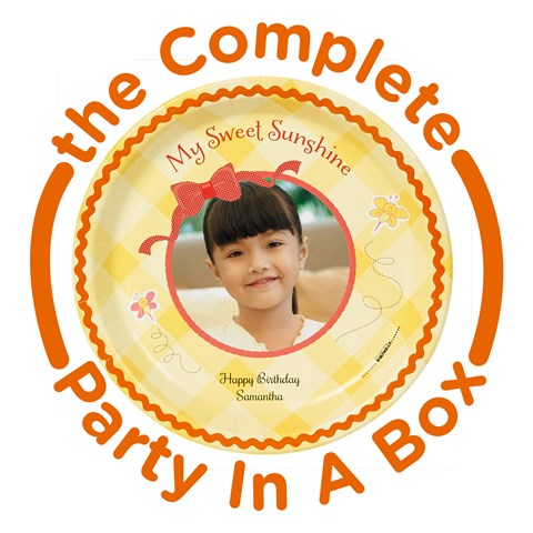 Little Sunshine Personalized Party in a Box