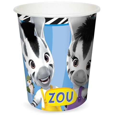 Zou - 9 oz. Paper Cups (8)