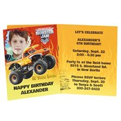 Monster Jam 3D Personalized Invitations (8)