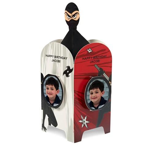 Ninja Warrior Personalized Centerpiece