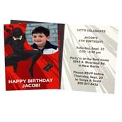 Ninja Warrior Personalized Invitations (8)