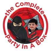 Ninja Warrior Personalized Party in a Box