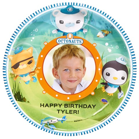The Octonauts Personalized Dinner Plates (8)