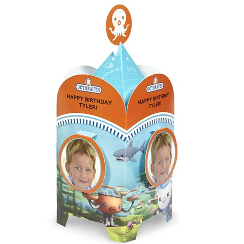 The Octonauts Personalized Centerpiece