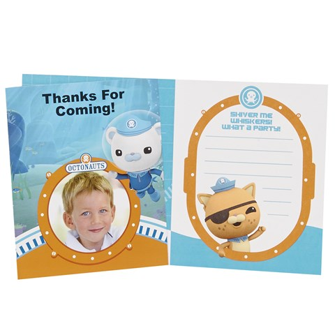 The Octonauts Personalized Thank-You Notes (8)