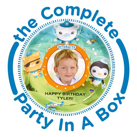 The Octonauts Personalized Party in a Box