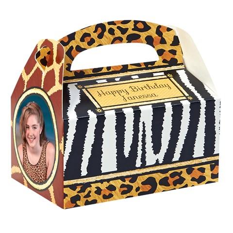 Safari Adventure Personalized Empty Favor Boxes (8)
